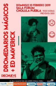 Dromedarios mágicos y Ed Maverick