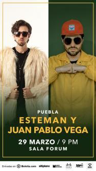 Esteman y Juan Pablo Vega