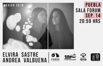 Elvira Sastre y Andrea Valbuena
