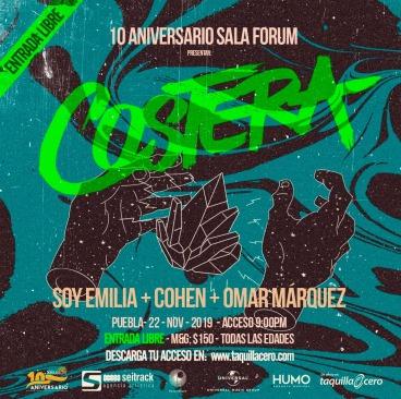 Costera en el 10 aniversario de Sala Forum